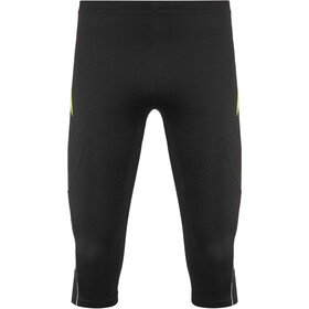 GORE WEAR R3 3/4 Leggings Heren, black/neon yellow